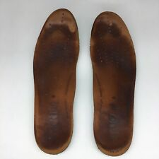 Ecco INSOLES Brown Green Footbed Insert Mens Size 12-12.5 US EUR 46