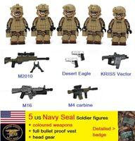 USA Navy Seal soldier figure special force gun blocks MOC Army Marine US america
