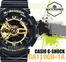 Casio G-Shock Garish Black Collection Series Watch GA110GB-1A