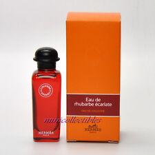 Hermes EAU DE RHUBARBE ECARLATE Eau de Cologne 7.5 ml Mini Perfume Miniature