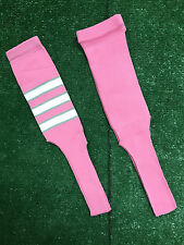 Baseball Softball Pink Stirrups Socks
