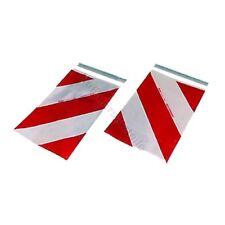 Warnflaggen für AMA Ladebordwand Hebebühne 400 x 250 mm