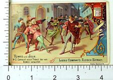 1880's Romeo & Juliet Opera Scenes Lovely Liebig Victorian 6 Trade Card Set K26