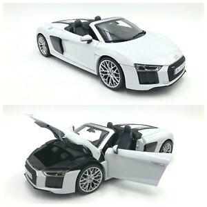 Audi R8 Spyder V10 Suzuka Grey 1/18 neuf boite origine livraison gratuite