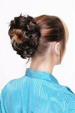 Postiche : Cheveux Synthétiques CHOUCHOU Scrunchy bandeau brun Mixte châtaigne