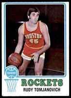 1973-74 Topps Rudy Tomjanovich Rockets #145 *Noles2148*