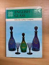 "1969 ""ENGLISH GLASS"" ILLUSTRATED HARDBACK BOOK"