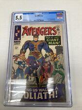 Marvel Comics Avengers 28 CGC Graded 5.5