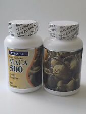 Maca 2  botles Root Extract High Potency Enhance Sexual Health, Potency, energy