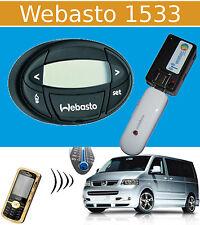 Cellulare GSM Telecomando per riscaldamento stand (USB) WEBASTO 1533