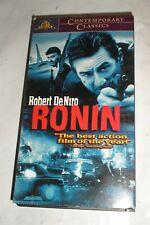 Ronin (VHS Tape, 1999) Robert DeNiro