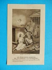 IMAGE PIEUSE  HOLY CARD SAINT TARCISIUS  MARTYR LAPIDATION  TARCISIO THFR 1933