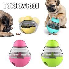 Dog Food Dispenser Treat Toy Food Leaking Ball Tumbler Pet Slow Feeder Puppy .