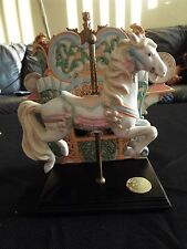Fancyland Carousel Horse Music Box, Limited Edition #184/4000 Direct Connection