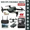 Drone X Pro WIFI FPV 1080P HD Camera 3Batteries Foldable Selfie RC Quadcopter 4K