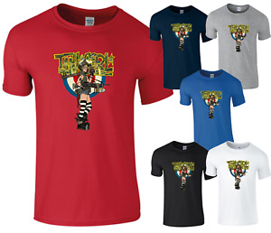 Tank Girl Comic Spades Alternative Bomb Men Women Unisex T shirt T-shirt 5999