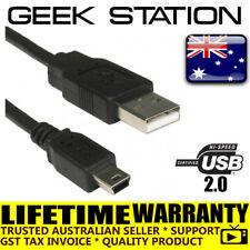 USB 2.0 Mini B Data Cable Charger for TomTom One V2 V3 XL GO920 garmin navman