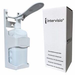 Desinfektionsspender Desinfektionsmittelspender 1000ml Ellbogenspender - 1 Stück