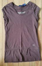 Girls Mudd Brown Tunic w/ Gold Embellishments M