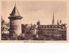 Joan Of Arc Tower Rouen France Postcard Unused VGC