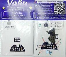 YAHU Models YMA3212 1/32 Hurricane Mk.i Instrument Panel for Fly