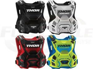 Thor Guardian MX Youth & Adult Chest Protector Roost Guard Motocross Off-road