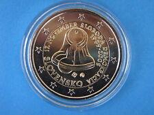 """2 euros Commémorative  SLOVAQUIE  2009 """"  17 NOVEMBRE 1989  """" sous capsule !!!"""