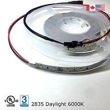 Super Bright LED Strip Light 2835 UL Listed 16Ft 12VDC Daylight 6000K 288 LEDs