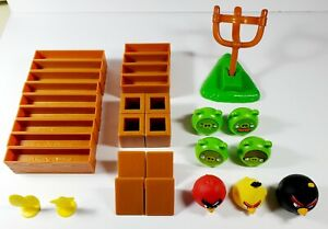 ANGRY BIRDS - Knock On Wood Game - Replacement Parts - Excellent Condition.