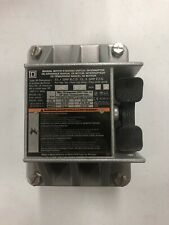 Square D 2510kr2 Manual Motor Switch Toggle Operated 3 Pole 30 Amp No Box