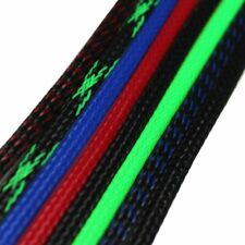 PET Braided Sleeving Electrical Cable Manage Wire Wrap Tube Cover Expandable Lot