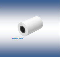 "Verifone VX520  2 1/4"" x 50' Thermal Credit Card Paper Rolls 50 RLS/CS"