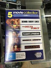 5 Movies - Behind Enemy Lines / The Delta Force / Flight Of The Phoenix / Broken