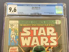 Star Wars 1977 1 CGC 9.6 NM+ White Pages First Print Newsstand Marvel