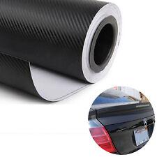 127cmx50cm 3D Selbstklebend Carbon Folie Klebefolie schwarz klebend Autofolien