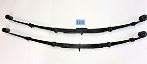 USED OEM ... '53 - '63 TRIUMPH TR2 - TR4 LH & RH REAR LEAF SPRING SET    K124