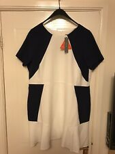 South Dress Size 18 White And Blue