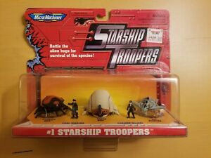 Starship Troopers Micro Machines Collection 1 NIB NIP MOC Galoob