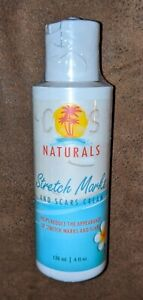 COS Naturals Stretch Marks and Scars Cream Natural Body Moisturizer Lotion with