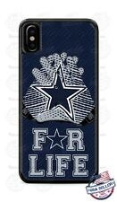 Dallas Cowboys Football For Life Phone Case For iPhone 11 Pro Samsung A20 LG etc