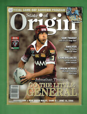 #NN3.  RUGBY LEAGUE STATE OF ORIGIN  MAGAZINE  14/6  2006,  GAME TWO