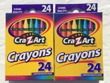 Crayons Cra-Z-Art 24 Pk School Quality Certified Non Toxic - 2 Pack