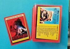 1983 TOPPS STAR WARS RETURN of the JEDI COMPLETE SERIES 1 plus 33 STICKERS