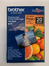 Brother Photo Paper 4 x 6 inch 260g 20 Sheets BP71GP20 NEW