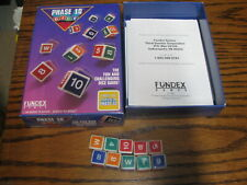 1993 Phase 10 Dice Game by Fundex      # LV BK N