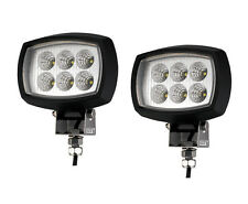 2 PCS MARINE BOAT RV TRAILER ATV OFF ROAD LED FLOODLIGHT SPOTLIGHT ULTRA BRIGHT