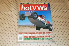 Dune Buggies and Hot VWs Magazine April 1987 Issue Street & Strip Ghias