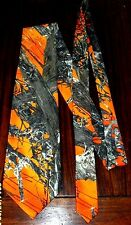 Neck Tie Men's CAMO Camouflage ORANGE Twill Mc2 Blaze,discount on multi orders