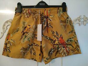 Stella McCartney Parrot Paradise Print Men's Swimming Shorts Size M EU48 BNWT