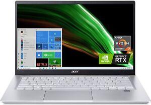 "Acer Swift X Creator Laptop 14"" AMD Ryzen 7 5800U RTX 3050Ti 16GB 512GB - NEW"
